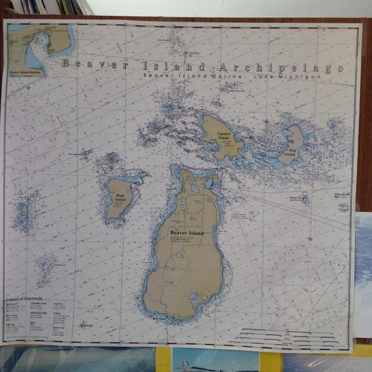 Beaver Island Chart