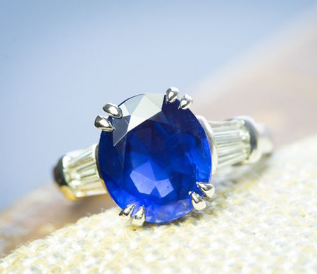 Sapphire ring, beverly hills