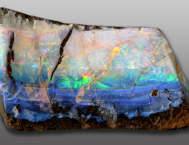 Opal, rough stone, october, blogging101, tresameyerclark,