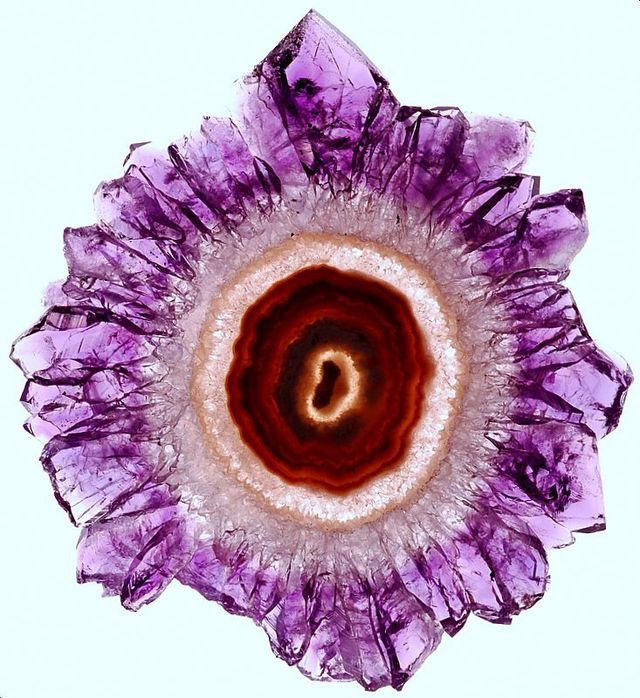 amethyst geode, stone slice, gemstone, purple
