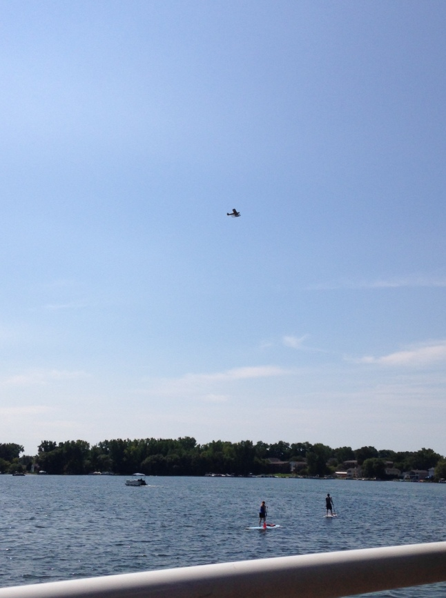 Flying, coasting, Walled Lake