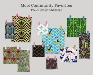Spoonflower Community Favorites