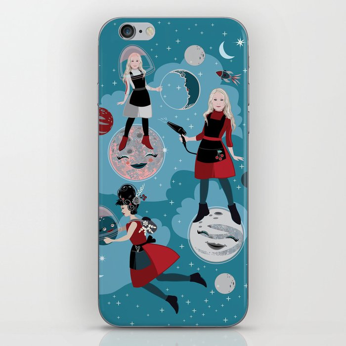 iphone case, moon and stars, moon landing
